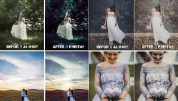 پریست لایت روم برای عروسی و ازدواج Wedding Presets